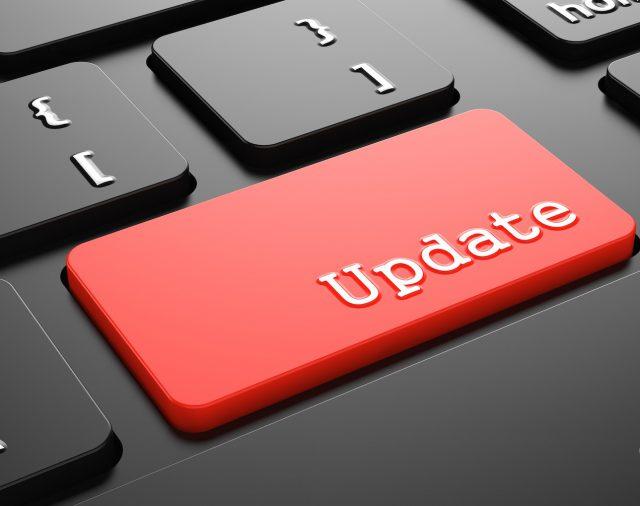 Updates, updates, updates…